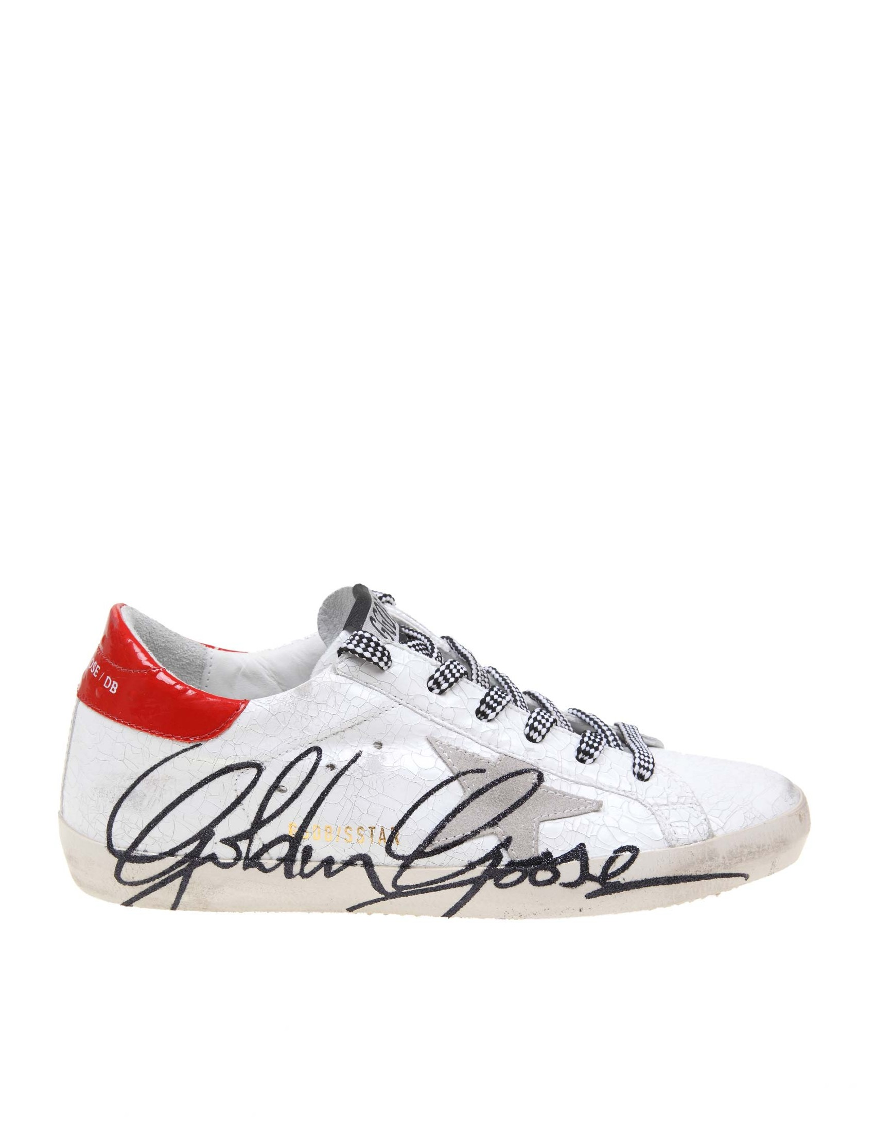 sneakers for cheap b2368 92a7d GOLDEN GOOSE SUPERSTAR SNEAKERS IN BRIGHT COLOR WHITE LEATHER