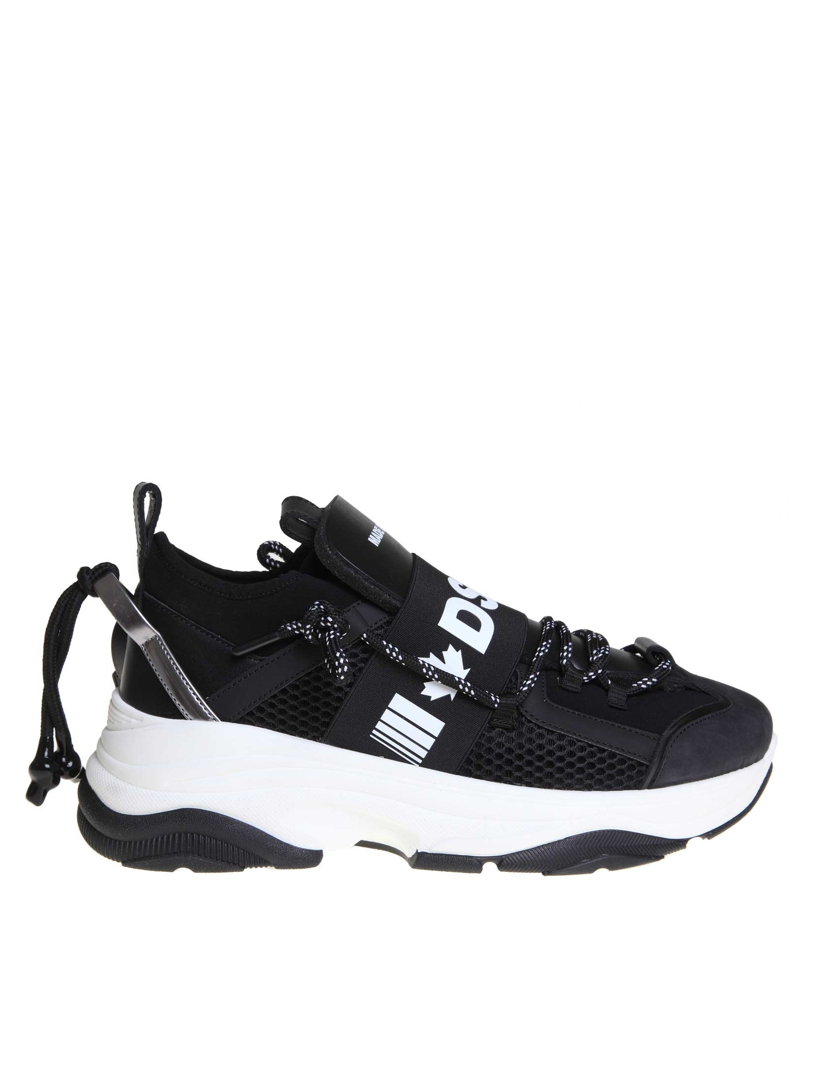 more photos 65e5d 2b431 DSQUARED2 SNEAKERS D-BUMPY IN NEOPRENE
