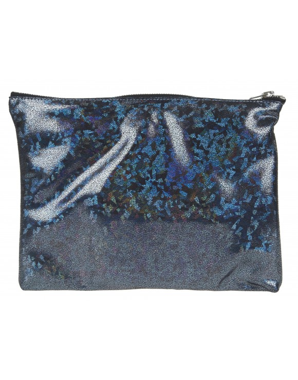 GOLDEN GOOSE POCHETTE HOLOGRAM